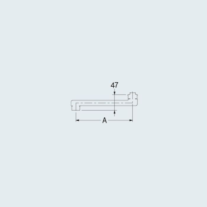 795-917 水栓先端部品 スパウト
