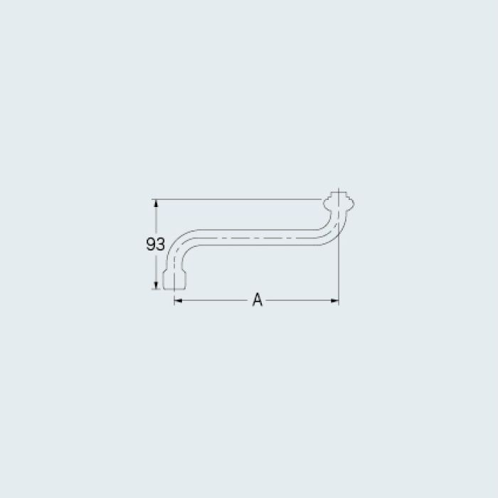 0748-170 水栓先端部品 泡沫Sパイプ