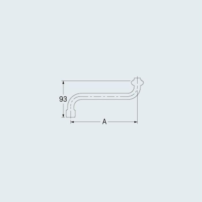0748-300 水栓先端部品 泡沫Sパイプ