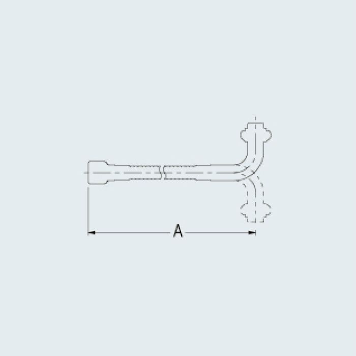 795-14-400 水栓先端部品 自在フレキパイプ