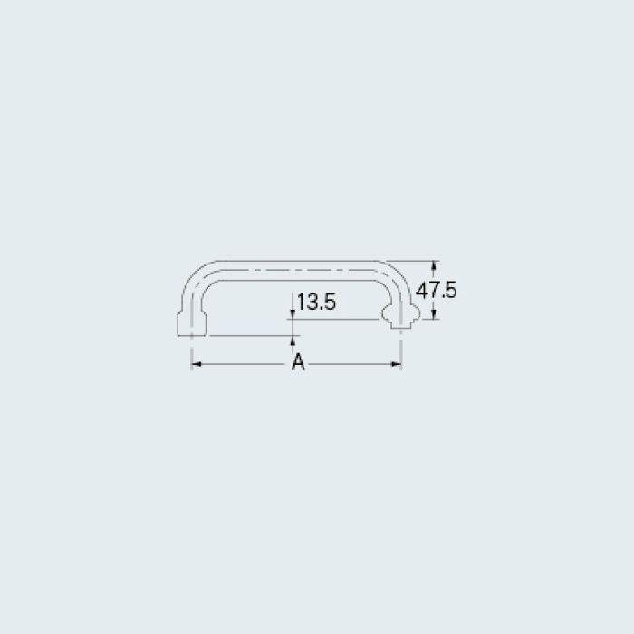 0749-240 水栓先端部品 泡沫Uパイプ