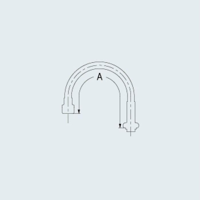 795-25-400 水栓先端部品 スワンフレキパイプ