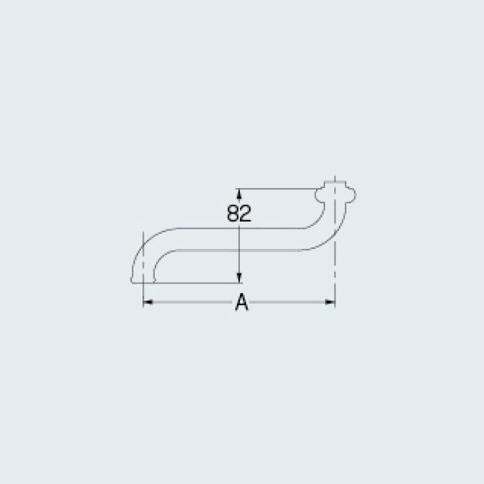 9108 水栓先端部品 Sパイプ(大)