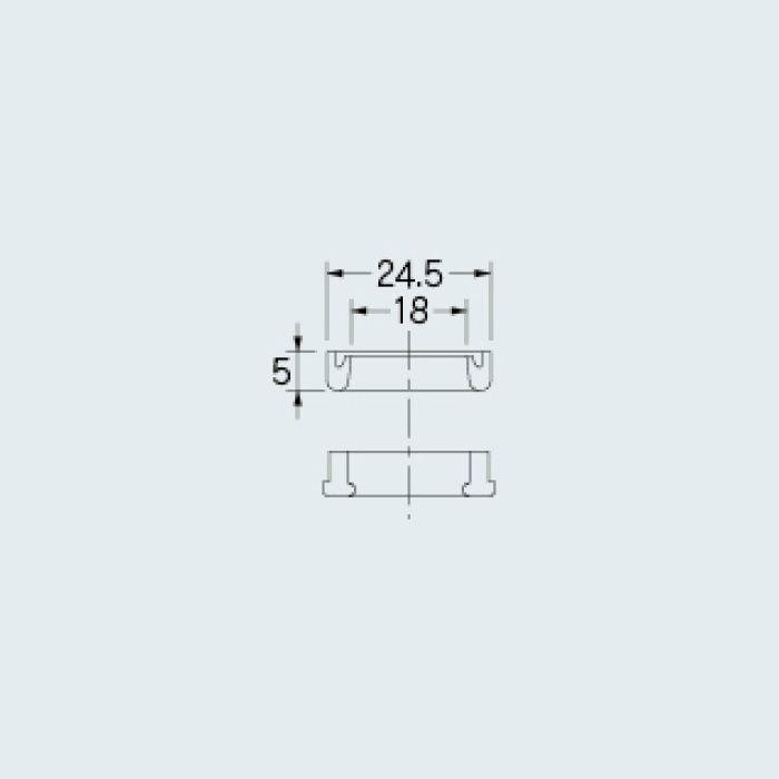 9110 水栓先端部品 自在パイプ取付パッキン(大)