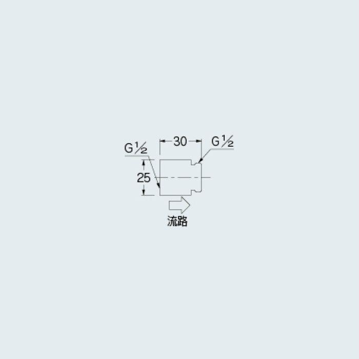 6206-3 水栓先端部品 定流量弁A