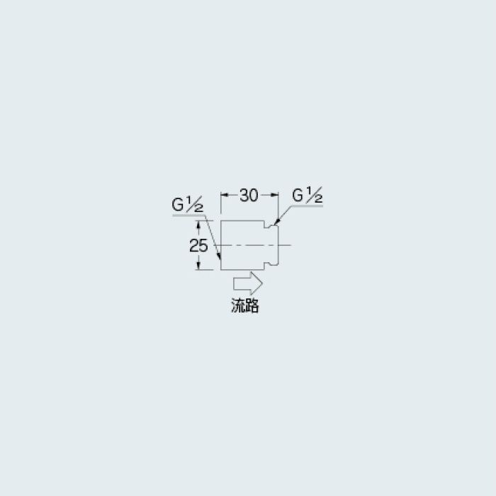 6206-4 水栓先端部品 定流量弁A