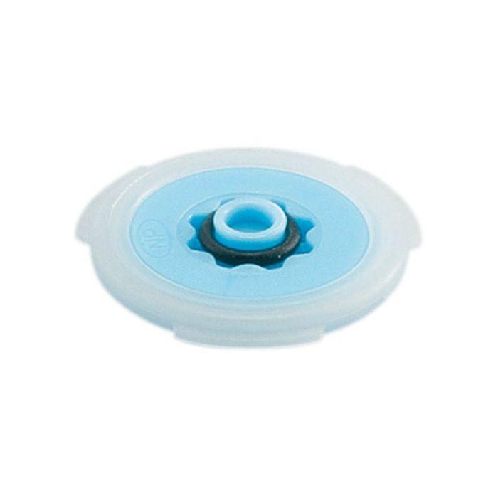 794-061-10 水栓先端部品 定流量パッキン 青