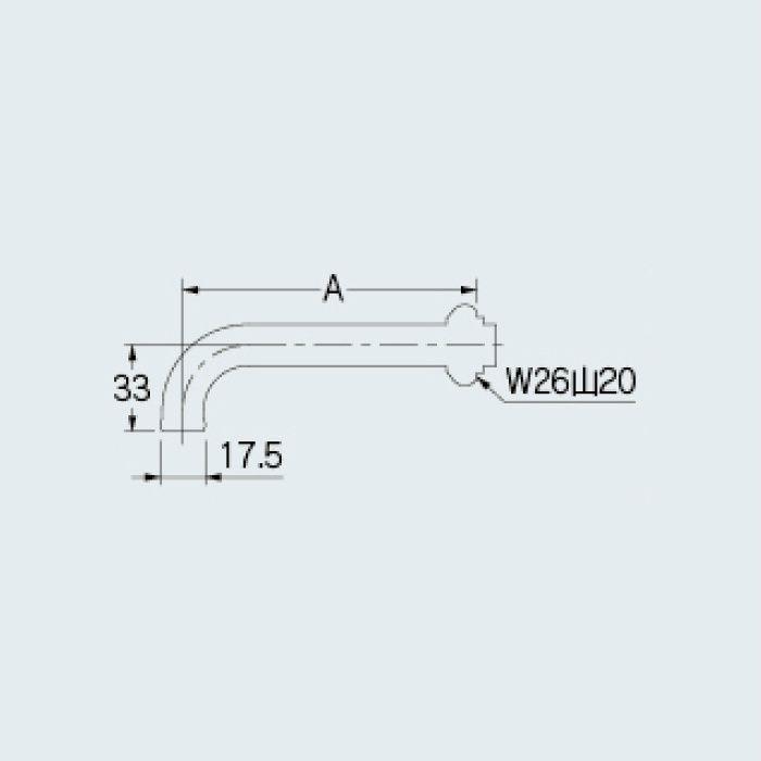 795-10-120 水栓先端部品 回転吐水口