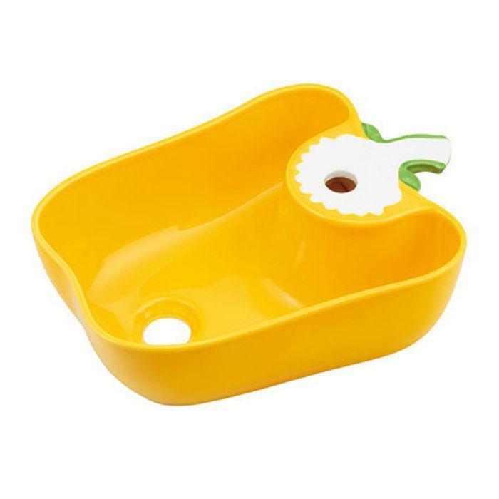 493-157-Y アイキャッチ手洗器 国産パプリカ イエロー