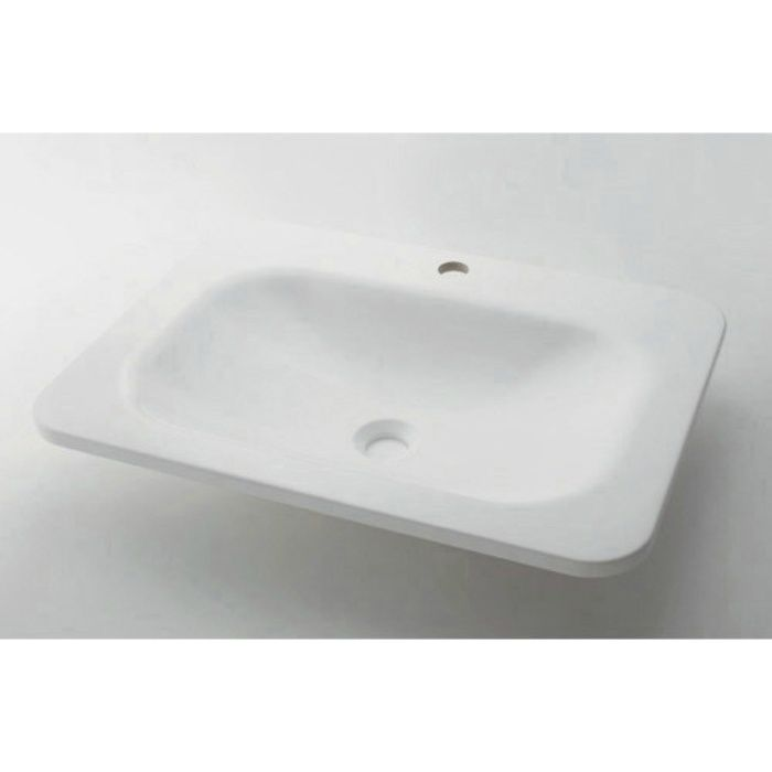 #MR-493220W カウンター設置タイプ 角型洗面器 ホワイト
