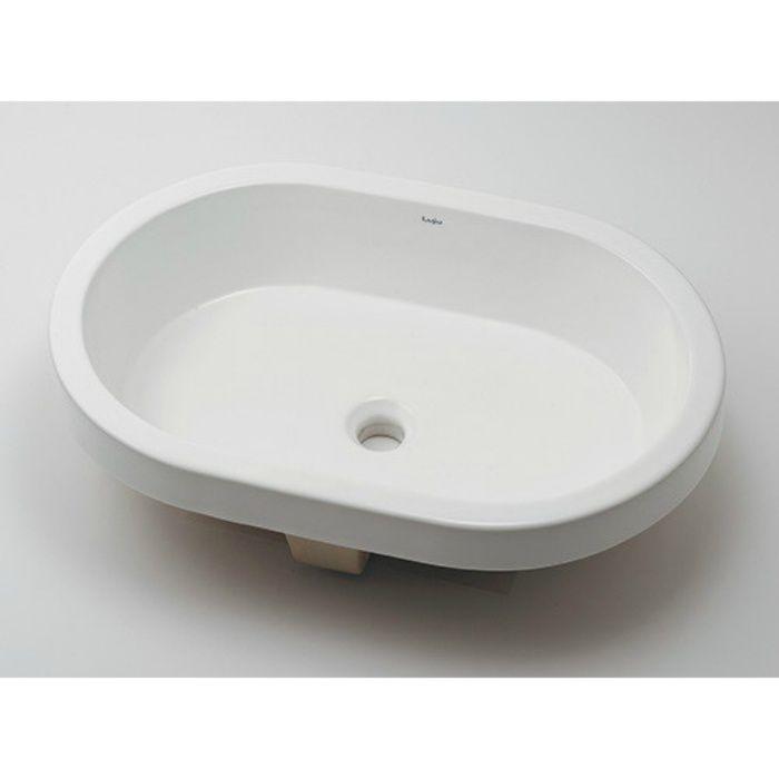 493-168 カウンター設置タイプ 丸型洗面器