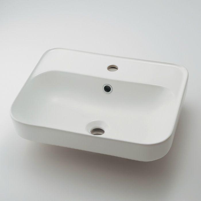【入荷待ち】#CL-8775AC カウンター設置タイプ 角型洗面器
