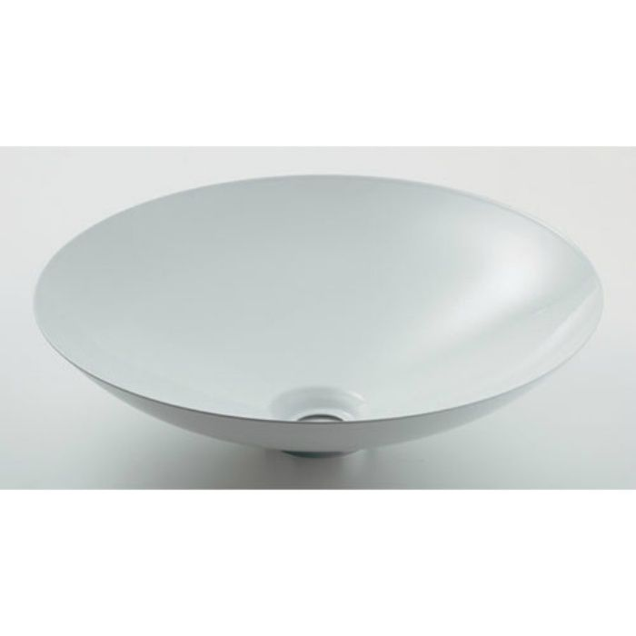 493-045-W カウンター設置タイプ 丸型洗面器 ホワイト