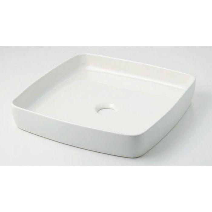 493-096-W カウンター設置タイプ 角型手洗器 シュガー
