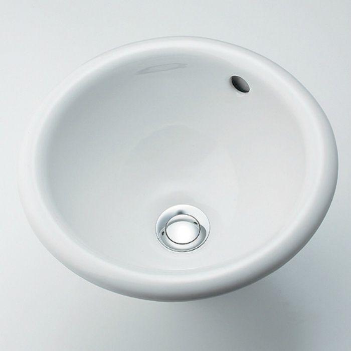 #DU-0473340031 カウンター設置タイプ 丸型手洗器
