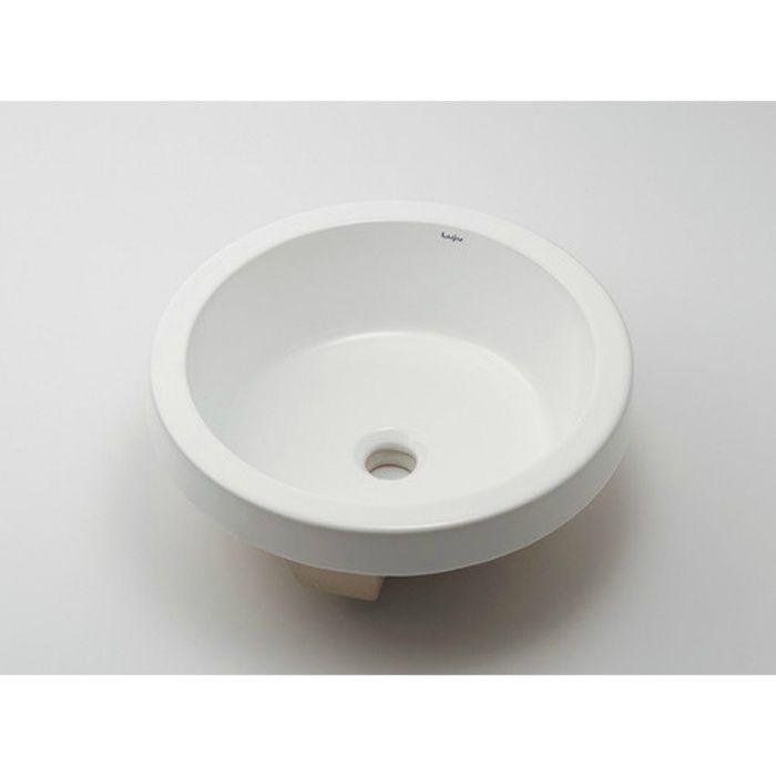493-170 カウンター設置タイプ アンダーカウンター式洗面器