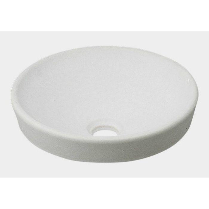493-012-W 和風 丸型手洗器 月白