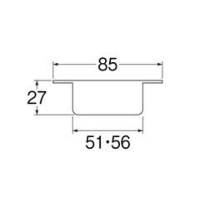 H540-50 洗濯機排水口