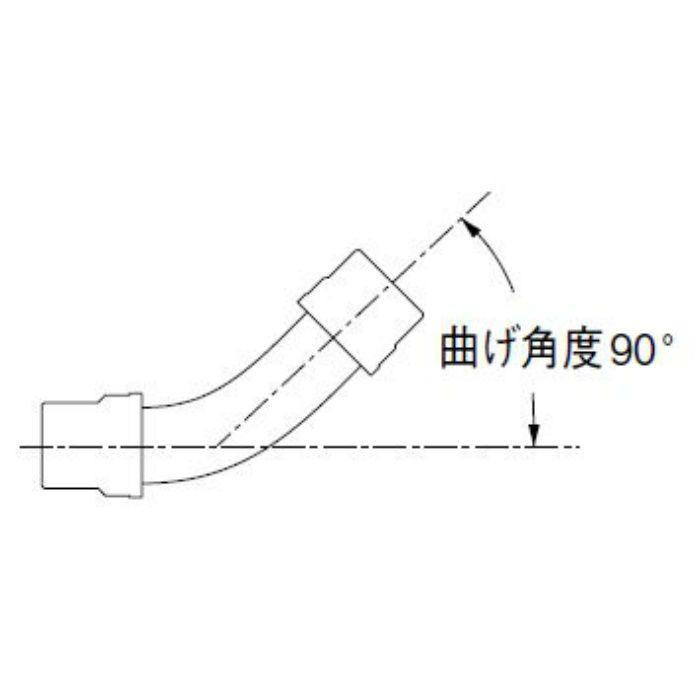 H640-50X400 パン排水フレキ 長さ400mm