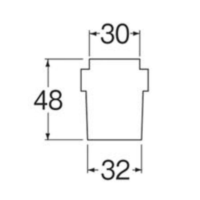 PH64-89T 洗濯機排水ホースキャップ
