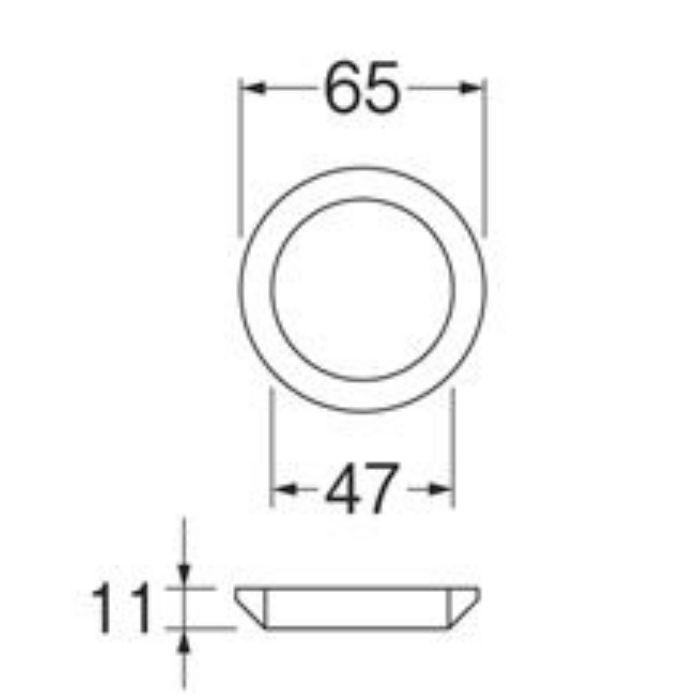 PP42-31S ロータンクサイフォン取付パッキン