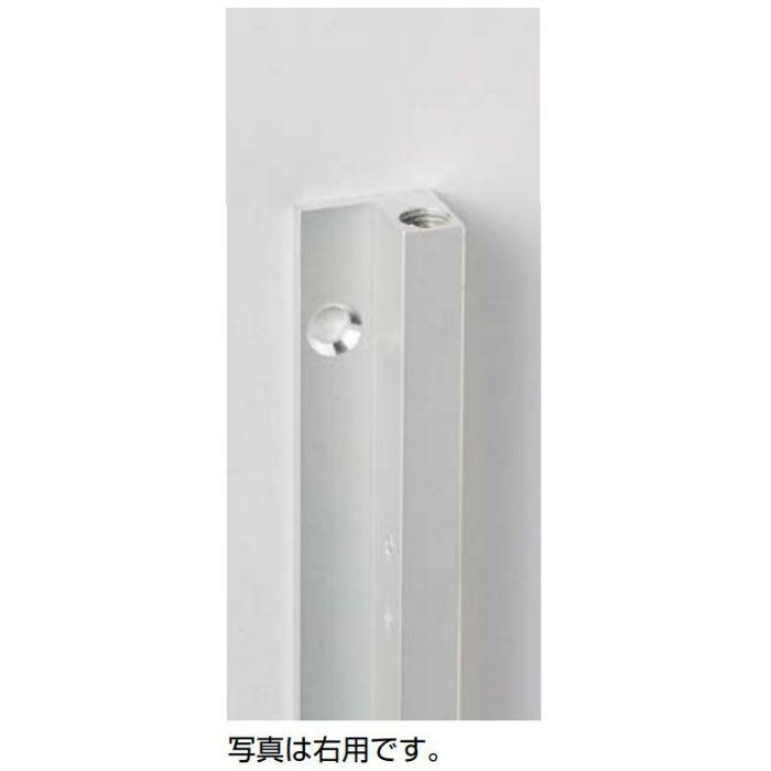 反り止め金具 OMMST713型 手掛かり兼用L字タイプ 垂直収納扉用 OMMST7132800TGDXB