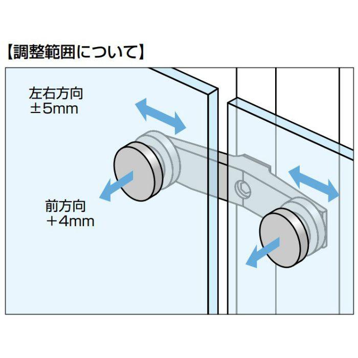ランプ印 ポイントフィックス® アームタイプ GPA-F2-SM 正面取付両アームタイプ GPA-F2-SM