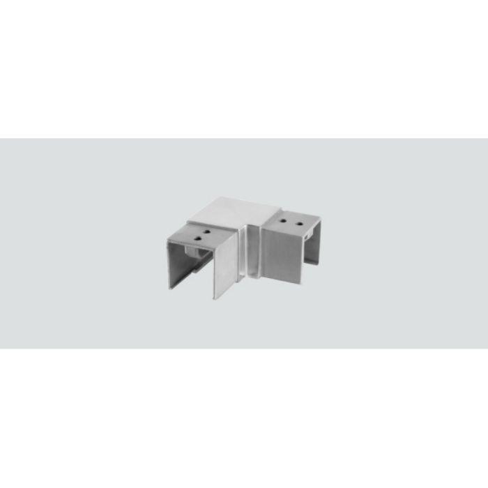 Q-railing 笠木用ジョイントパーツ 13-6313-040-12 角横形水平ジョイント 13-6313-040-12