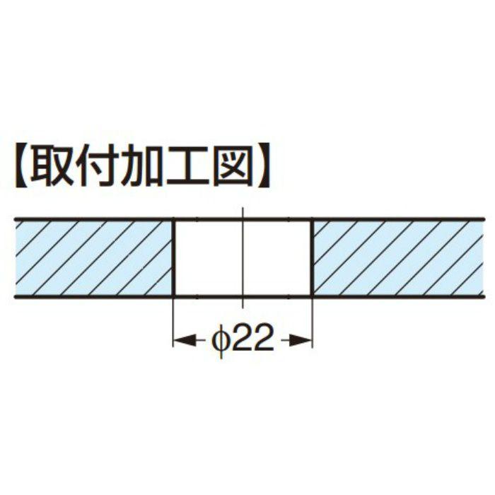Q-railing ポイントフィックス® 13-0748型 13-0748-500-12