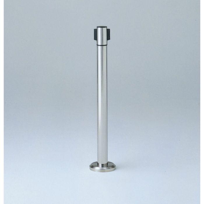 ランプ印 床固定 ベルトリールパーティション® AP-BR911C ヘッド回転タイプ・ベースカバー付 AP-BR911C(MR)RD