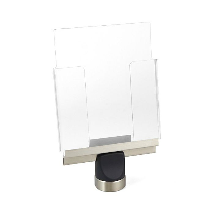 ランプ印 ベルトリールパーティション® パンフレットホルダー AP-BRP17型 AP-BRP17LCL
