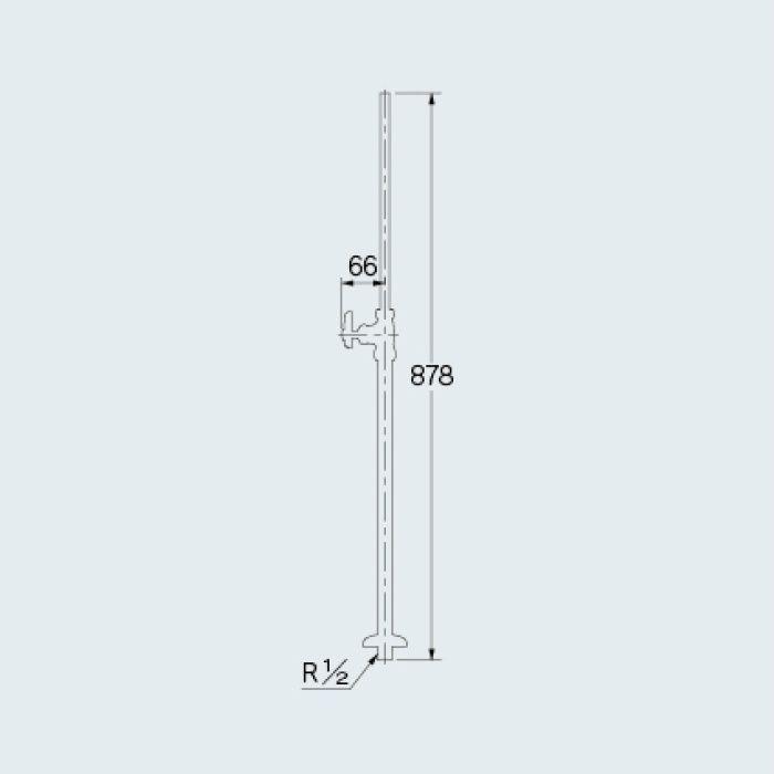 709-103-13 止水栓 ストレート形止水栓