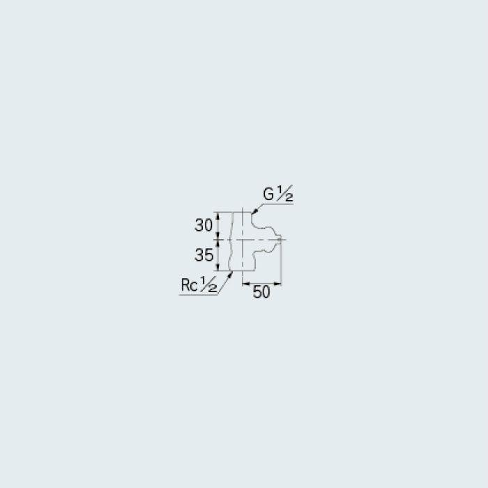 7857 止水栓 D式化粧バルブ 13