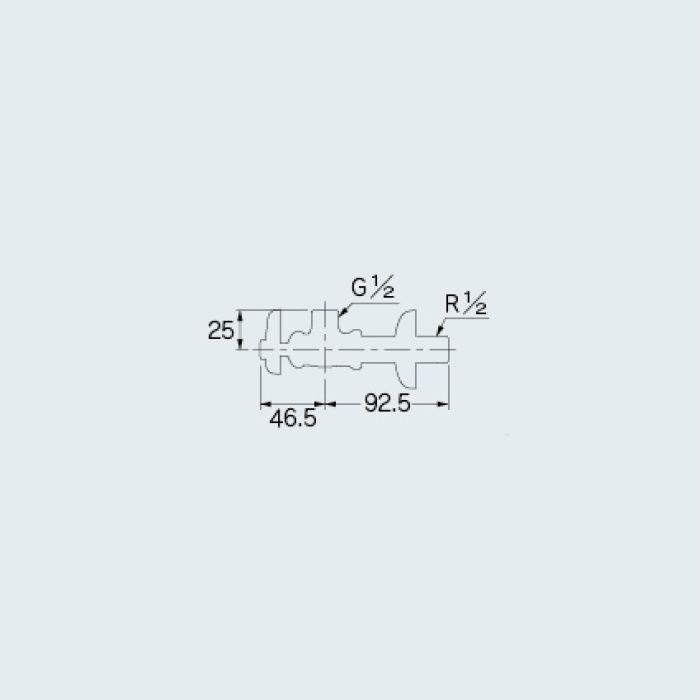 705-621-13 止水栓 アングル形止水栓本体