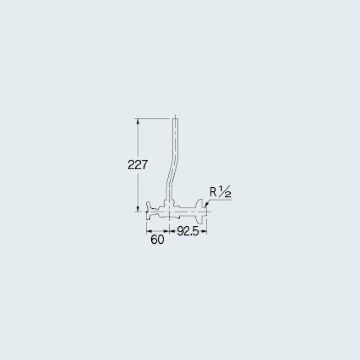 705-710-13 止水栓 アングル形止水栓