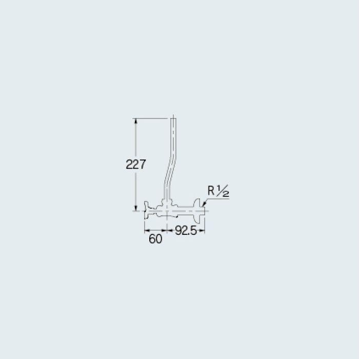 705-711-13 止水栓 アングル形止水栓 ピンクゴールド