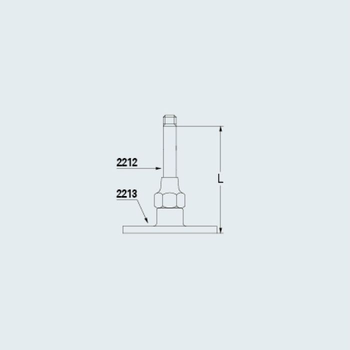 2212-45 止水栓 支持棒