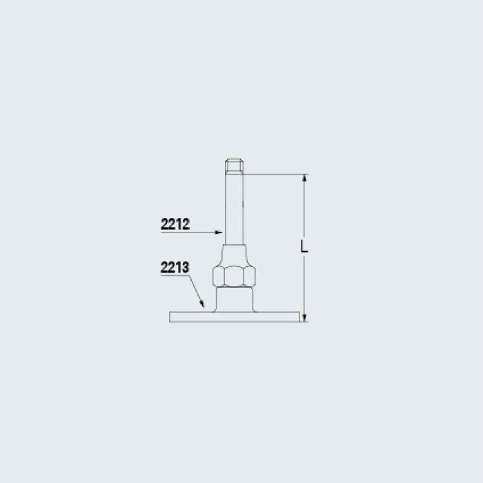 2212-50 止水栓 支持棒