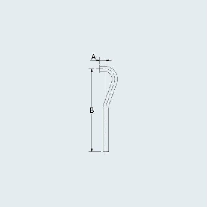 4680-25X500 止水栓 止水栓給水L管