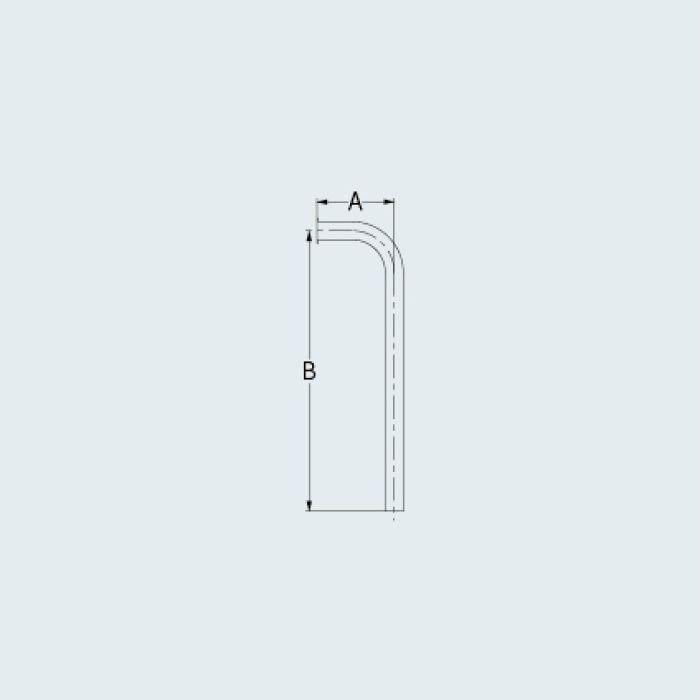 4680-95X500 止水栓 止水栓給水L管