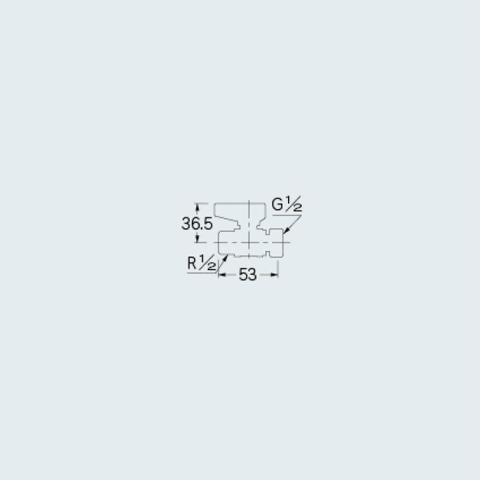6501 バルブ ボールバルブ(片ナットつき) 13