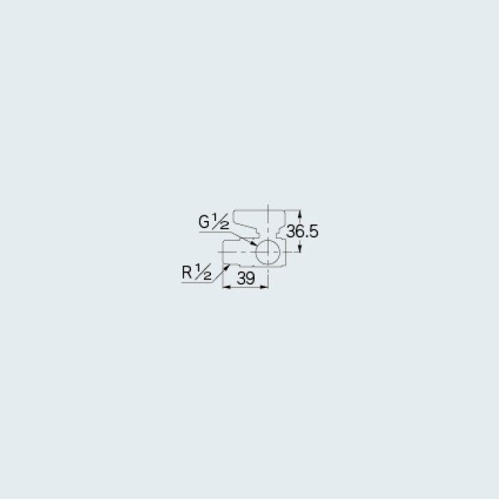 650-211-13 バルブ アングル型ボールバルブ