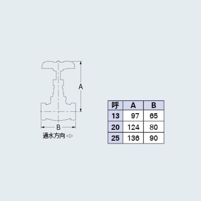 653-005-25 バルブ グローブバルブ