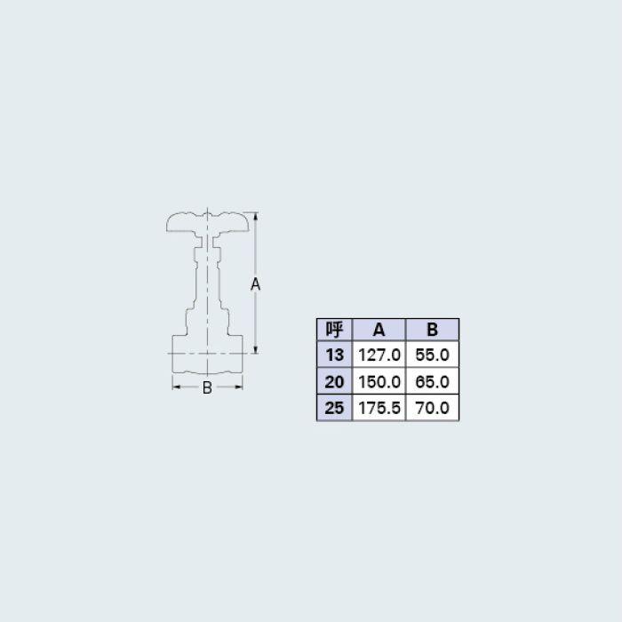 654-005-25 バルブ ゲートバルブ