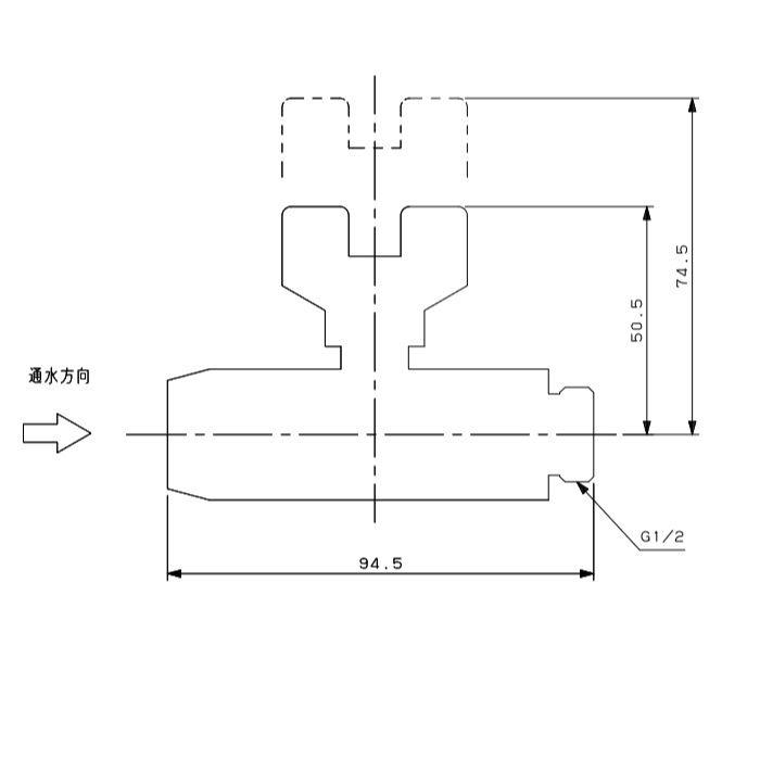 655-216-13 メタカポリ逆止弁つきボールバルブ ワンタッチ