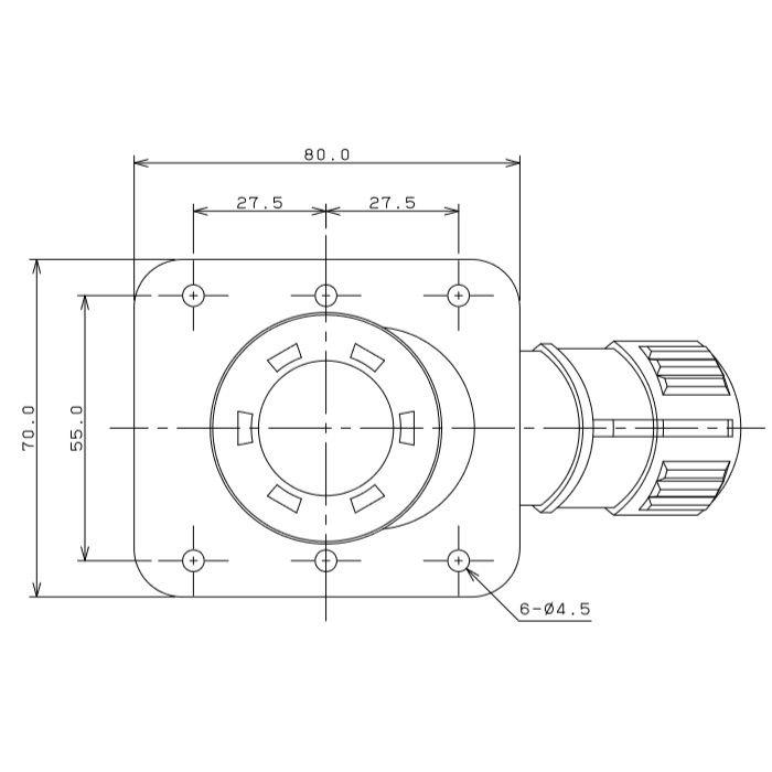 682-002-22 高床用水栓ボックス