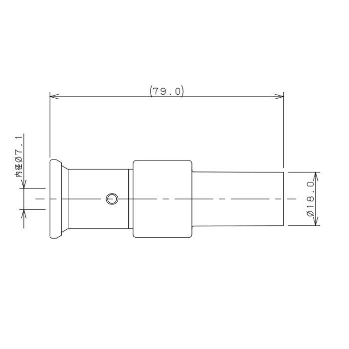 610-028-13A JKロックHIVPアダプター ワンタッチ