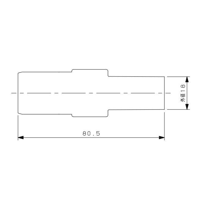 615-319-13AH メタカポリHTVPアダプター ワンタッチ