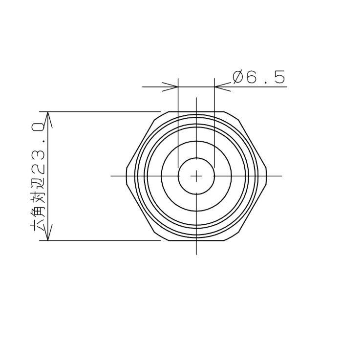 798-31X500 ブレードフレキ 45°L型