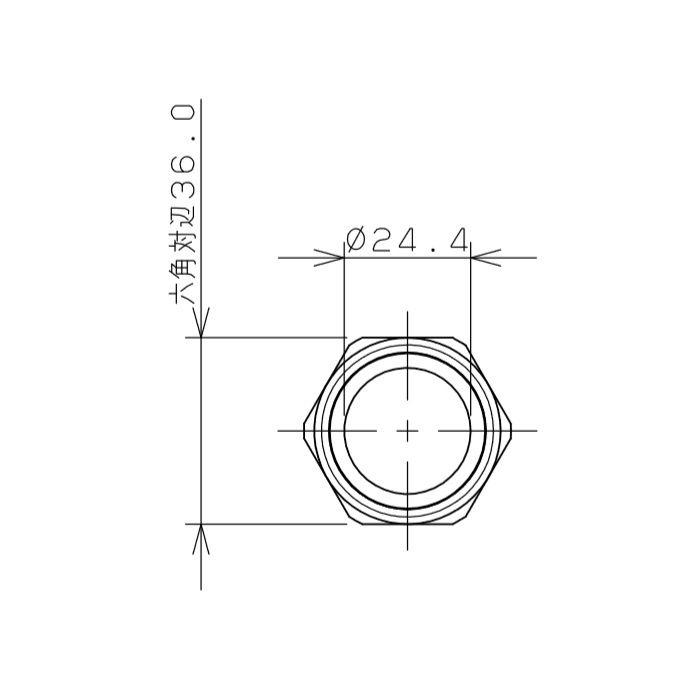 798-03X500 ファンコイル用フレキパイプ 25mm